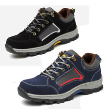 Mens Winter Warm Lined Steel Toe Cap Safety Work Boots Outdoor Hiking Snow Shoes