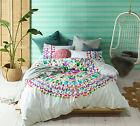 Accessorize Loving Life 100% Cotton Mandala Quilt Doona Cover Set - QUEEN KING
