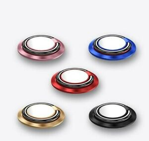 Magnetic Finger Grip Ring Holder 360° Rotating Stand For Mobile Phone Tablet