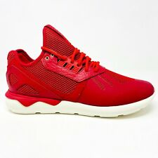 Adidas Tubular Runner Chinese New Year Power Red Gold Mens Size 12 AQ2549