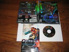 Metroid Prime 2: Echoes (Nintendo GameCube,2004) CIB- VG Disc] OOP + I Ship Fast