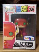 Funko Pop! Starfire Teen Titans Flash New Protector Rare Vaulted TRUS Exclusive