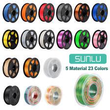More details for sunlu 3d printer filament abs pla petg pla+ silk 1.75mm 1kg/2.2lb spool printing