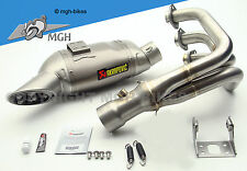 Akrapovic Sportauspuff Auspuff exhaust Yamaha MT 09 MT-09 13-> RN29 NO KAT NEW