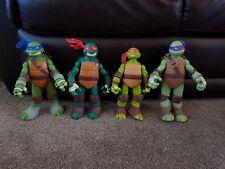 """Teenage Mutant Ninja Turtles TMNT Approx 11"""" Figure Collection. 2012 Viacom"""