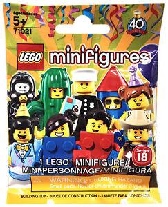 Lego 71021 Classic POLICE OFFICER Policeman Minifigure 40th Anniversary CMF RARE