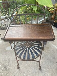 Rare 3/4 Size Globe-Wernicke Ogee Style Bookcase D-XS Top In Original Finish