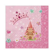 Tovaglioli carta Cm. 33x33 Princess - Blister 16 pezzi