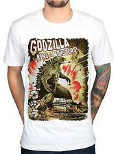 Official Godzilla Japanese King Of The Monsters T-Shirt Movie Cartoon Dinosaw