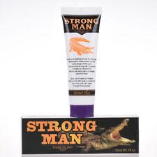 STRONG MAN Penis Enlargement Cream +  Peineili Delay Spray