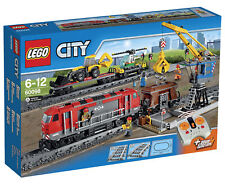 LEGO City Heavy Haul Train 60098 Helicopter and Wagon