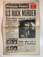 Vintage Newspapers UK - Melody Maker 8 July 1961