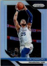 Ben Simmons #219 Panini Prizm Prizms SILVER 2018/19 NBA Basketball Card