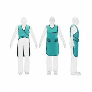 X Ray Radiation Protection Lead Apron 0.5mm Color Sea Green