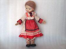 Vintage Nastenka Doll In Traditional Costume,Ussr/Russia, Lenigrushka, 1960s-70s