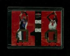 Corey Maggette Luol Deng Fleer Ultra ONE ON ONE Dual PRIME Patch #1/10! 1/1? SSP