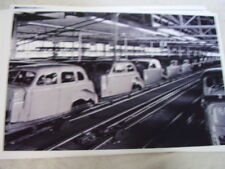 1937 OLDSMOBILE  ASSEMBLY LINE   11 X 17  PHOTO  PICTURE
