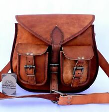 Vintage Bag Leather Women's Purse Tote Handbag Satchel Crossbody Messenger Bag