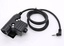 Z-TÁCTICO PTT para uso militar U94 Adaptador PTT Z113 para Motorola Radio 2.5 mm T5200 6200