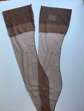 Vintage NOS Hosiery Sheer SEAMED Stockings Garter Gaymode Cuban Heel 9