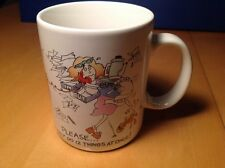 """Hallmark Cards Coffee Mug """"Please.I can only do 12 things at once!"""" Secretary"""