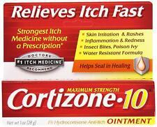 Cortizone-10 Anti Itch Cream Ointment 1 oz