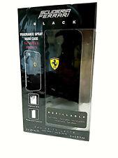 Scuderia Ferrari Black Fragance Spray Hard Case for iphone 2x25ml Edt Spray