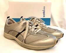 Easy Spirit  JPAustra Gold Combo Womens Lace Up Sneaker Athletic Shoe Size 8.5M