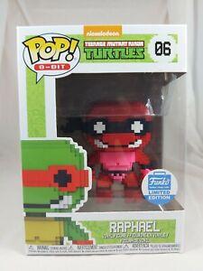 8-BIT Funko Pop - Raphael (Neon) - Teenage Mutant Ninja Turtles - No. 06