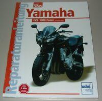 Reparaturanleitung Yamaha FZS 1000 Fazer ab Baujahr 2001 Reparatur Handbuch NEU!