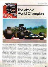 JACKY ICKX Grand Prix F1 Formula One History Article/Picture/Photos