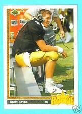 Brett Favre RC 1991 Upper Deck Star Rookie 91 #13 MINT