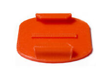 Adhesive Flat Mount F. GoPro go pro HD Hero 1, 2, 3 accesorios taparé pad red