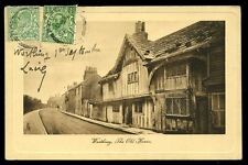 Sussex Worthing Old House Tuck 2480 PPC 1911