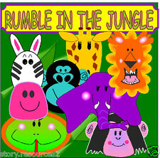 RUMBLE IN THE JUNGLE teaching resources Story sack EYFS KS1 Childminder Resource