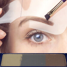 Poudre maquillage sourcils Brunette waterproof compacte + 6 pinceaux
