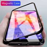 Luxury Metal Magnetic Absorption Shockproof Case Cover For Huawei Mate / P20 Pro