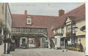 Huntingdonshire Postcard - George Hotel - Huntingdon - Ref TZ406