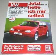Reparaturanleitung Golf IV Typ 1J Bora Variant V5 V6 4Motion Benzin + Diesel TDI