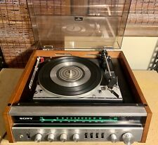 New listing Sony Hp-510 Solid State Stereo Music System w/ Dual 1214 Turntable