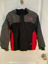 Boys Toddler 4T Black Gray Red North Face Gore Tex Shell Ski Coat Jacket