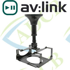 HEAVY DUTY CEILING/WALL MOUNT PROJECTOR CRADLE 180° TILT 360° ROTATE 310-460MM D