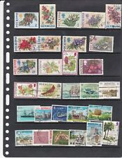 Bermuda   nice lot of old  stamps   ( lot 2150 )