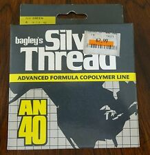 Vintage Original Package Bagley's Silver Thread Green 4 Pound 300 Yards