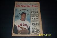 1967 Sporting News California Angels REICHARDT Stanley Cup Champions MAPLE LEAFS