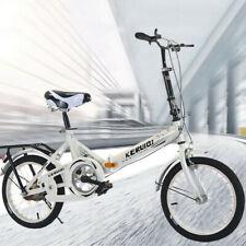 20 Zoll leichtes Mini Klapprad kleines tragbares Fahrrad Erwachsene Schüler DE