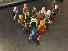10 personaggi lego misti Marvel Avengers Superheroes DC minifigures NUOVI omini