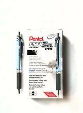 Pentel EnerGel Deluxe RTX Retractable Liquid Gel Pen, Needle Tip 0.7 mm 12 Pack