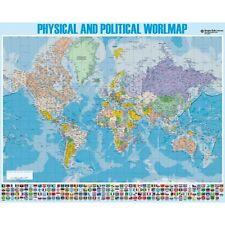 Miniposter Mapa Mundi Ingles