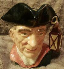 Vintage 1962 Royal Doulton Character Toby Mug Jug Large Night Watchman D6569